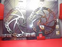 Пара роторів Brakco 180 і 203 мм