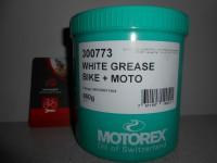 Свіжа змазка Motorex White Grease 628 біла 20 грамів- 60 грн
