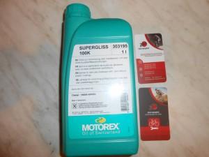Motorex Supergliss 100K, DT Swiss