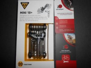 Ключ Topeak Mini 18 Plus