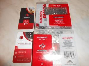 Ланцюг SRAM PC 1051 на 10 швидкостей