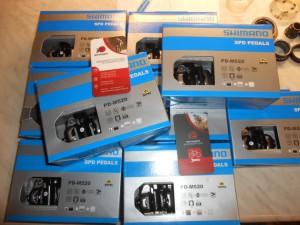 Педалі контактні Shimano PD M520