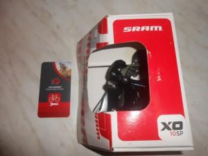Задній перемикач SRAM X0, на 10, карбон