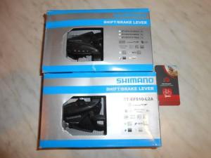 Набір манеток 3х7, Shimano ST-EF 510