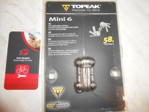 Мультитул Topeak Mini 6