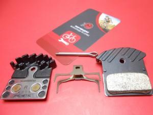 Гальмівні колодки Shimano J04C радіатори - 490 грн