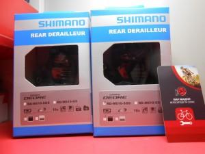 Задня перекидка Shimano Deore RD-M610 SGS