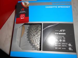 Касета Shimano XT CS-M8000 (11-42) на 11