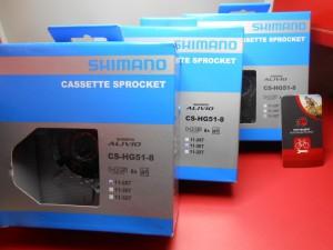 Касета Shimano CS-HG51 на 8 шв