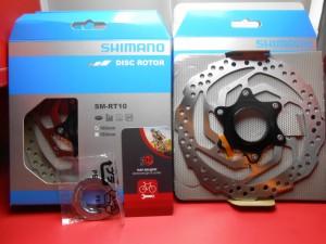 Ротор Shimano SM-RT10S Center-Lock 160 мм