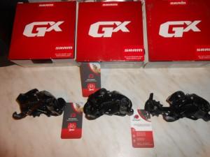 Задні перемикачі Sram GX для 10 шв