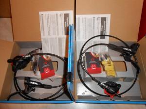 Гальма Shimano SLX BR-М7000 - 1700 мм+1000 мм - 4200 грн