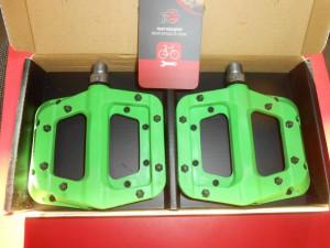 Педалі Race Face Chester зелені - 1400 грн