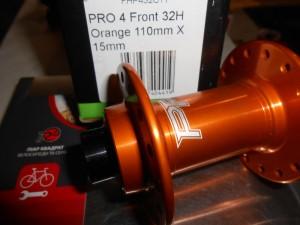 Втулка передня Hope PRO 4 - Boost 110 мм х 15 мм