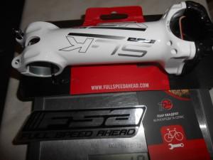 Винос FSA SL-K білий, 130 мм