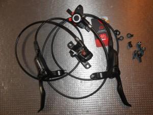 Комплект гальм Shimano BR-M355 перед+зад