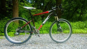 Карбоновий  BMC Team Elite TE01 26 колеса Розмір M