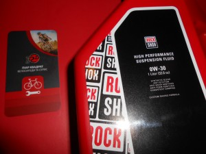 Масло RockShox 0-W30 для Pike - 780 грн