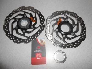 Ротор Shimano SM-RT10S 160 мм centerlock - 295 грн