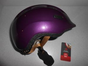 Дитячий шолом ABUS SMILEY 2.0 - royal purple М (50 - 55 cм)