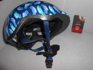 Дитячий шолом ABUS SMILEY 2.0 - blue car М (50 - 55 cм)