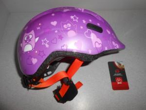 Дитячий шолом ABUS SMILEY 2.0 - purple star М (50 - 55 cм)