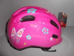 Дитячий шолом ABUS SMILEY 2.0 - pink butterfly М (50 - 55 cм)