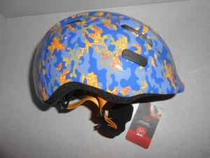 Дитячий шолом ABUS SMILEY 2.0 - camou blue S (45-50 cм)