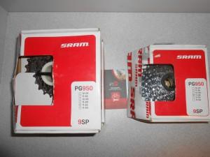 Касета Sram SRAM PG 950 (11-28) і (11-32) - 890 грн
