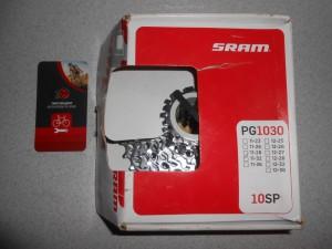 Касета SRAM PG 1030 (11-32), для 10 швидк. - 1300 грн