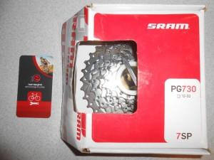Касета нова Sram PG-730 (12-32) для 7 шв - 450 грн