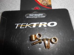 Оливка + Штуцер для гальм Tektro - 60 грн