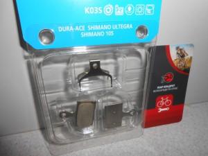 Колодки Shimano K03S Resin для одного каліпера - 250 грн