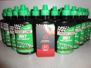 Змазка Finish Line WET 120 мл, для мокрої погоди - 300 грн
