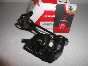 Задній перемикач SRAM X4, для 7-8-9 шв. - 640 грн
