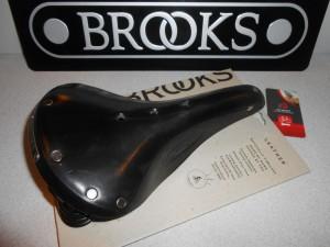Сідло Brooks Flyer Black чорне - 4420 грн
