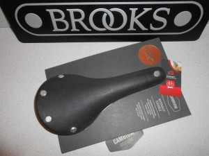 Сідло Brooks Cambium C15 Organic Black чорне - 3760 грн