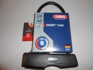 Замок скоба ABUS 460 Granit 230 мм - 1860 грн