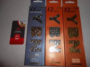 Ланцюги YBN 11-12 швидкостей з замком - 750 - 990 грн