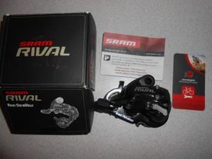 Перемикач SRAM Rival 10 шв, 28 зубів макс - 1600 грн