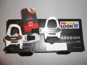 Педалі LOOK Keo 2 Max, white, білі - 2150 грн