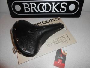 Сідло Brooks B67 Black - чорне - 4420 грн