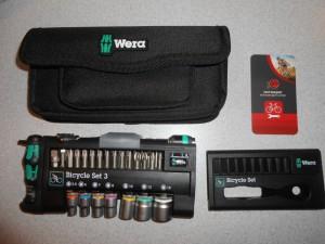 Набір інструментів WERA в чохлі, 39 предметів - 2700 грн