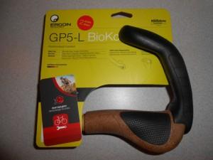 Гріпси Ergon GP5 BioKork, розмір L - з рогами - 2700 грн
