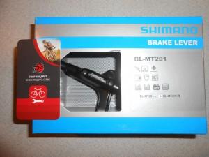 Ручка гальм Shimano BL-MT201, права - 500 грн