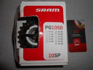 Касета Sram SRAM PG 1050 (12-25) для 10 шв - 1750 грн