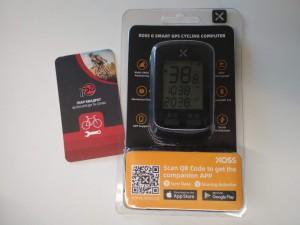 Велокомп'ютер XOSS G (GPS, Strava) - 990 грн