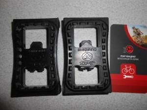 Накладки контактних педалей SPD стандарту - 300 грн