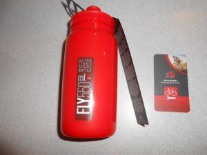 Фляга Elite Fly 550 мл, червона - 180 грн