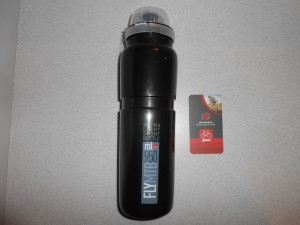 Фляга Elite Fly MTB 950 мл, колір чорний - 270 грн